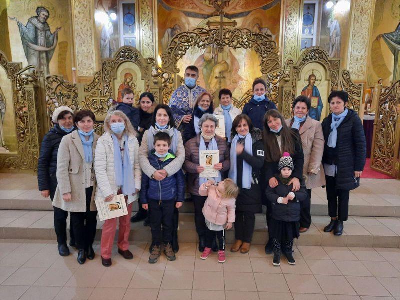 Primire de noi membre în Reuniunea Mariană din Zalău