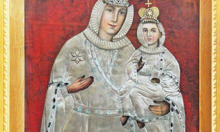 Icoana miraculoasă de la Mănăstirea Greco-Catolică din Bixad