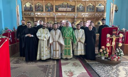 Seminariștii orădeni în Dumbrava, de Florii