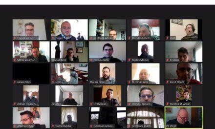 Întâlnire online a preoților din Episcopia Greco-Catolică de Oradea
