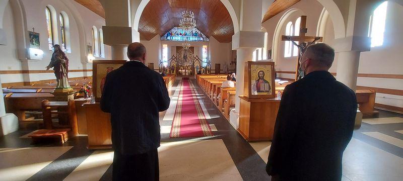 Vizita prin Parohiile din Oradea a Preasfințiilor lor Virgil Bercea și Ioan Călin Bot