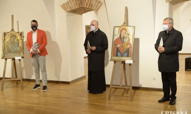 Expoziție de icoane vechi la Muzeul Orașului Oradea – Lacrimile Cerului. Fecioarele înlăcrimate ale Transilvaniei