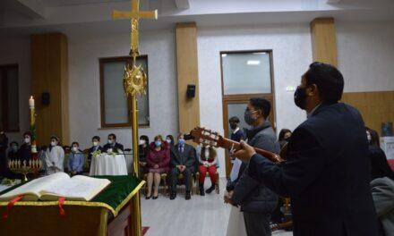 Comunitatea Neocatecumenală din Oradea a sărbătorit Învierea Domnului