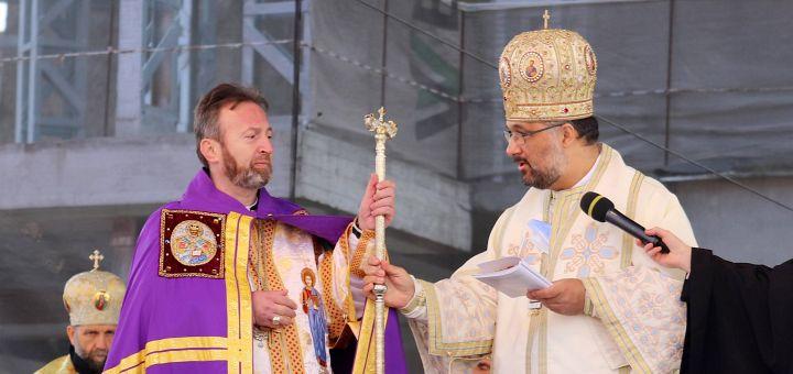 Înscăunarea noului Episcop Eparhial de Cluj-Gherla, PS Claudiu