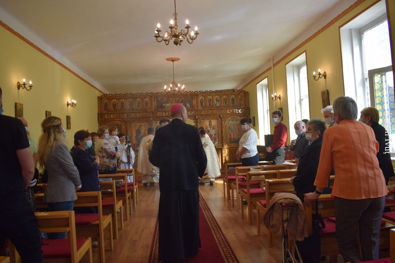 Credincioșii greco-catolici maghiari au celebrat Rusaliile