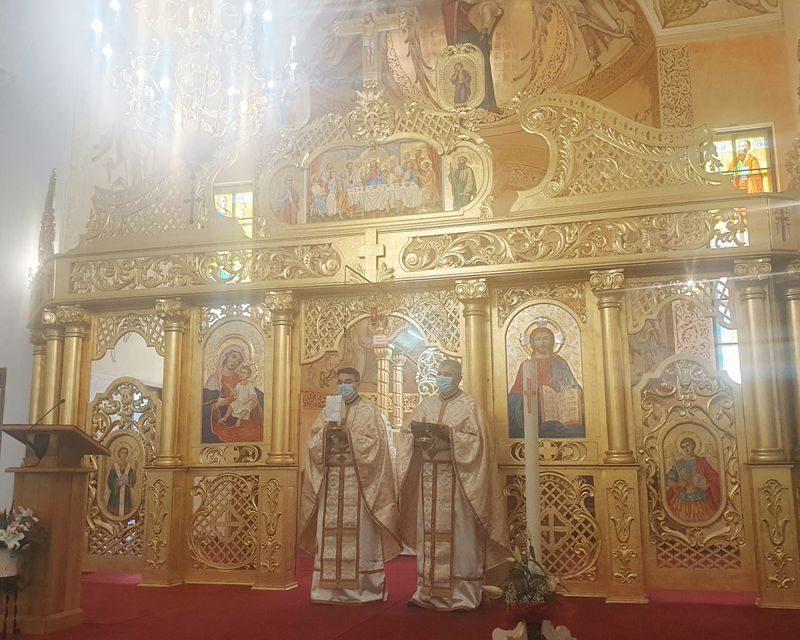 Vizita Părintelui Vicar cu preoții la Șimleu Silvaniei