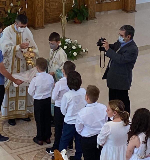Prima Împărtășanie solemnă în Parohia din Beiuș