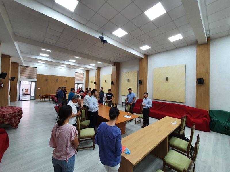 """Vizita Asociației Catolice """"Puncte Inima"""" în comunitatea seminarului orădean"""
