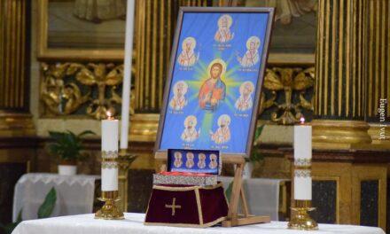 Acatistul Fericiților Martiri în Catedrala Sfântul Nicolae din Oradea