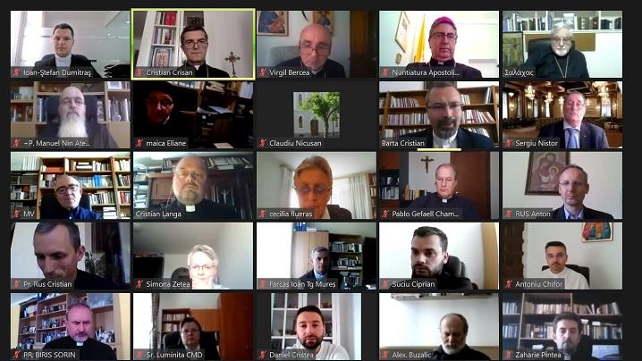 """Simpozion Internațional on-line: """"Să mergem împreună"""": universalitate și incluziune. Doi ani de la Vizita Papei Francisc la Blaj (2019-2021)"""