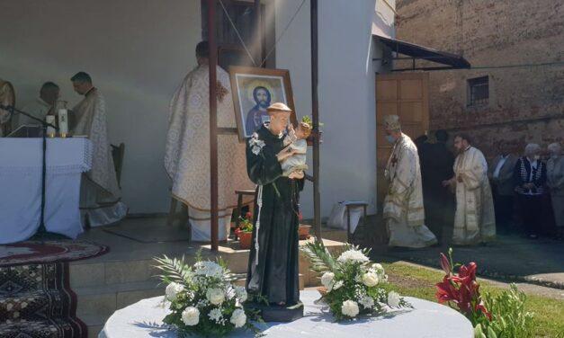 """Hramul Parohiei Greco-Catolice """"Sfântul Anton de Padova"""" Carei"""