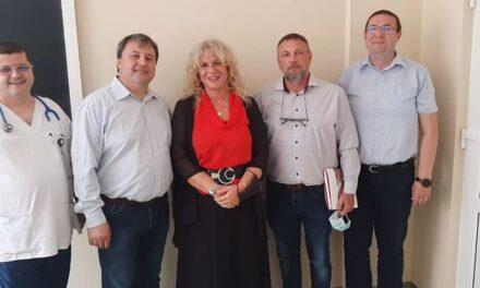 Vizita la Oradea a doamnei Barbara Fari de la Spitalul din Trieste