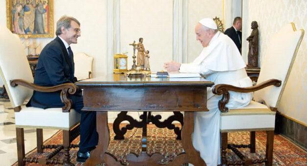 Papa Francisc s-a întâlnit cu președintele Parlamentului European
