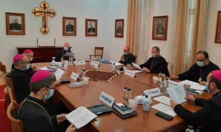 Comunicat  Sesiunea ordinară de primăvarăa  Sinodului Episcopilor Bisericii Române Unităcu Roma, Greco-Catolică
