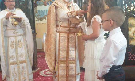 Prima Împărtășanie Solemnă la Marghita