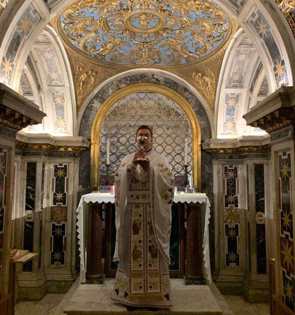 Liturghie greco-catolică în Bazilica Sfântul Petru