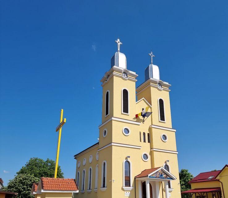 """Resfințirea Bisericii greco-catolice din Băile """"1 Mai"""""""