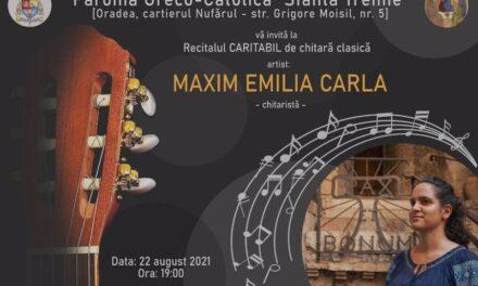 """Concert caritativ în Parohia Greco-Catolică """"Sf. Treime"""" – Oradea"""