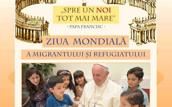 Mesajul Sfântului Părinte Francisc pentru a 107-a Zi Mondială a Migrantului şi Refugiatului (26 septembrie 2021)