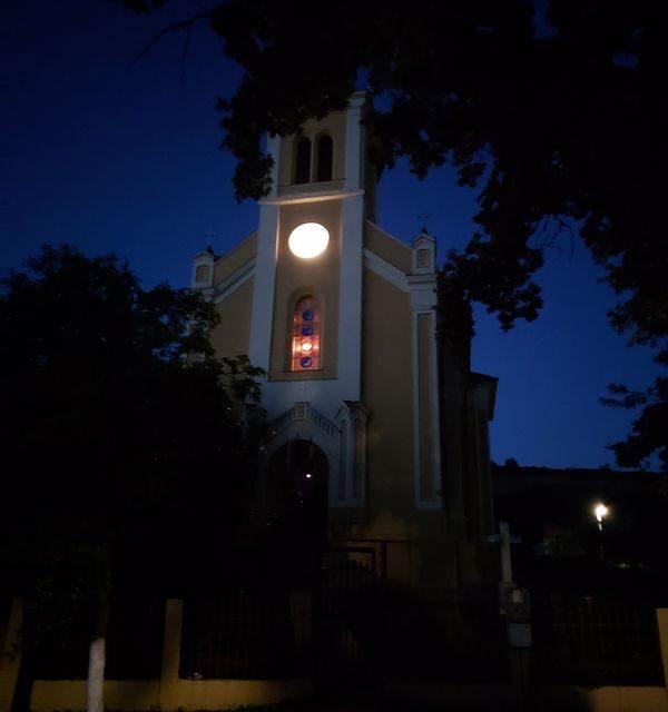 Biserica cu soare din Vintere a indicat echinocțiul de toamnă