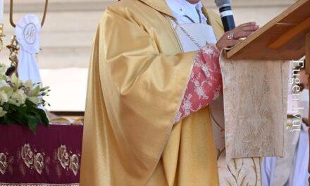 Omilia E. S. Mons. Miguel Maury Buendía Nunțiu Apostolic în România și Republica Moldova cu ocazia binecuvântării lucrărilor de restaurare a Bisericii din Haieu