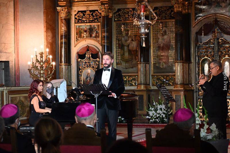 Concert în onoarea Nunțiului Apostolic