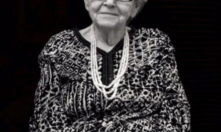 Flavia Bălescu-Coposu a urcat la Cer