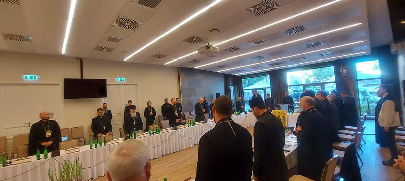 Preasfințitul Virgil Bercea prezent la Întâlnirea Episcopilor Catolici Orientali din Europa