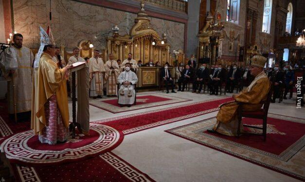 Omilia E. S. Mons. Miguel Maury Buendía Nunțiu Apostolic în România și Republica Moldova cu prilejul binecuvântării lucrărilor de restaurare a Catedralei din Oradea