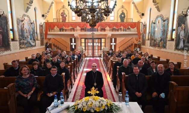 Întâlnire formativă cu preoții și soțiile acestora  din Protopopiatele Marghita, Carei, Ier, Tășnad și Supur