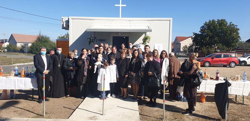 Sărbătoare în Parohia Sf. Anton din Ioşia-Oradea, cu ocazia binecuvântării noii Capele
