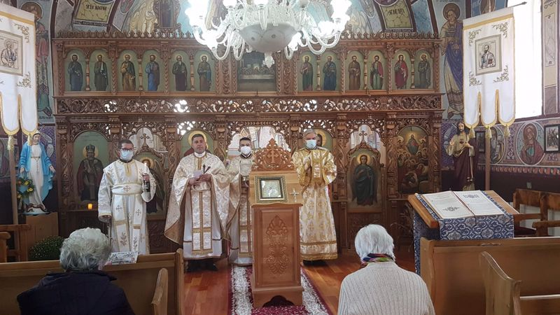 Sfânta Liturghie în Parohia Băița