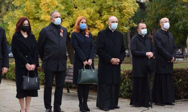 ZIUA ORAȘULUI ORADEA, MARCATĂ LA MONUMENTUL OSTAŞULUI ROMÂN