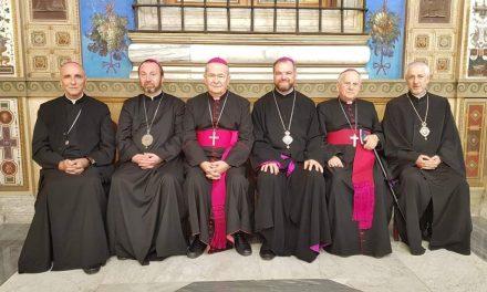 Papa Francisc a concelebrat Sfânta Liturghie împreună cu episcopii catolici din România