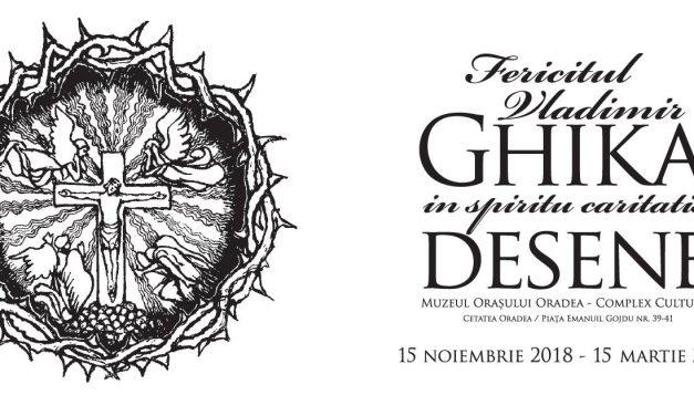 """Invitație: Expoziția """"Fericitul Vladimir GHIKA – In spiritu caritatis – DESENE"""""""