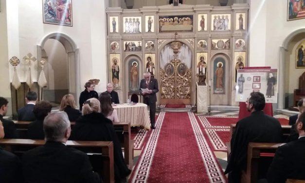 Prezentare la Colegiul Pio Romeno a emisiunii filatelice dedicată Fericitului Vladimir Ghika