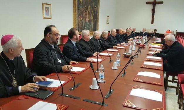 Ierarhii catolici din România în vizită la Congregaţia pentru Episcopi