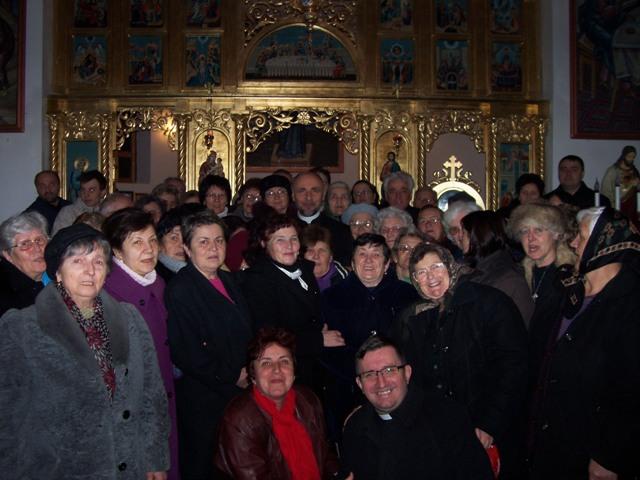 Reculegeri spirituale pentru membrii Reuniunii mariane la Haieu,