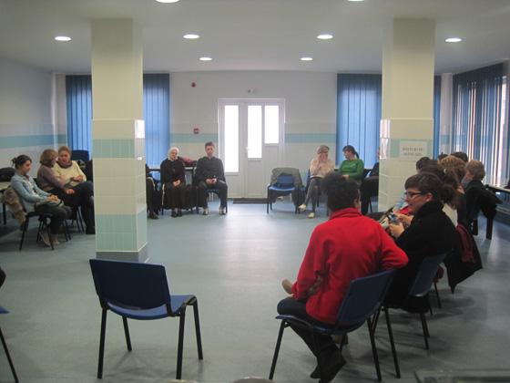 Întâlnire de formare cu voluntarii Caritas,