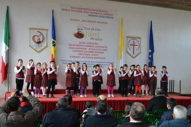 """Ziua taticilor la Liceul """"Don Orione"""" din Oradea,"""