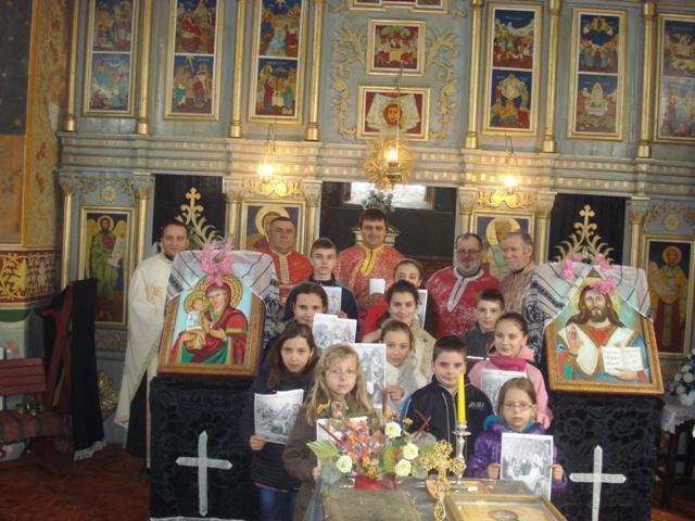 CALEA CRUCII celebrata în parohia greco-catolica din Holod,