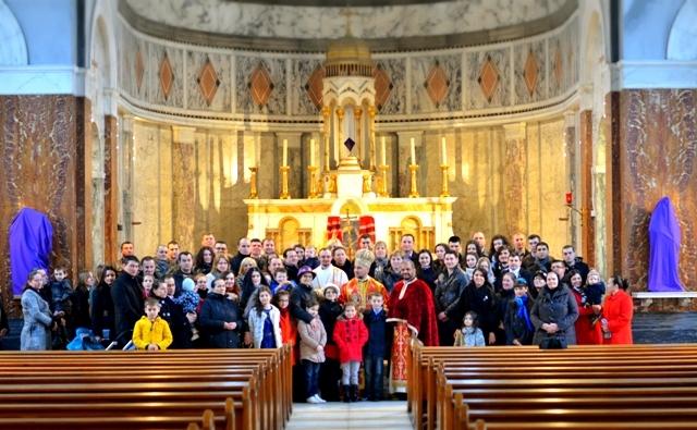 Vizita pastorala a PS Virgil Bercea la Misiunea Româna Unita din Londra,