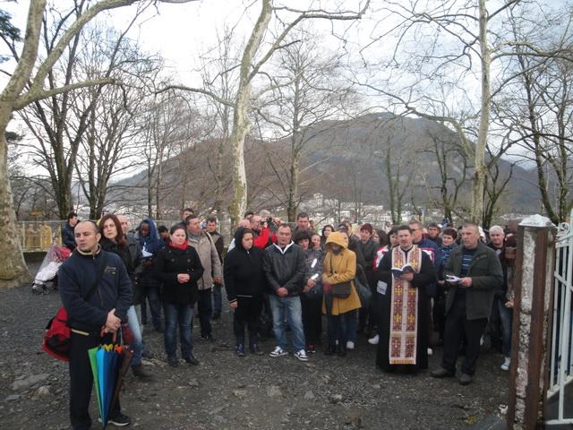 """Pelerinajul comunitatii românesti din Calahorra, Spania la Lourdes"","