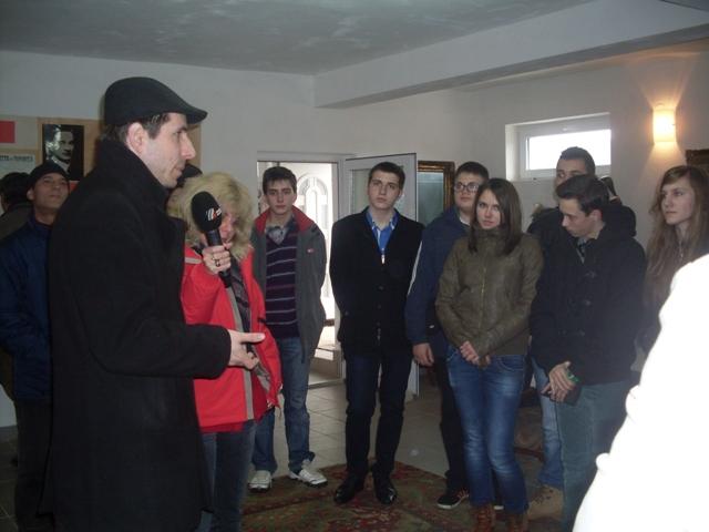"""""""Elevii Liceului Greco-Catolic ,,Iuliu Maniu'' din Oradea în vizita la Badacin"""","""