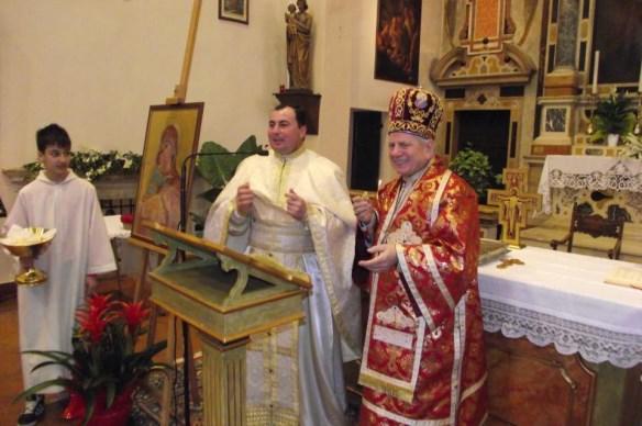 Vizita pastorala si prezentare de carte în Parohia din Villafranca,