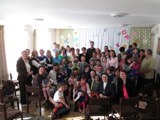 """Meditatie spirituala pentru parintii copiilor de la Gradinita """"Sfintei Inimi a lui Isus""""  din Zalau,"""