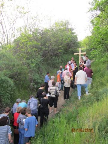 Calea Sfintei Crucii pe Dealul Magura în Simleu Silvaniei,