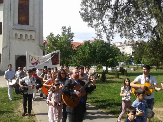"""""""Mare Misiune"""" organizata de Calea Neocatecumenala în anul credintei la Oradea,"""