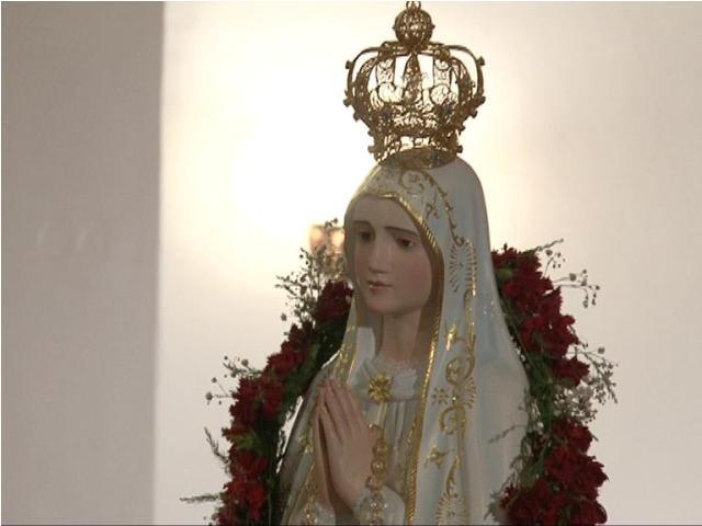 """Aniversarea primei aparitii a Fecioarei Maria de la Fatima la Manastirea """"Maica Domnului"""" din Oradea,"""