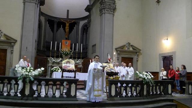 Sarbatoarea Învierii Domnului în comunitatea româneasca din Figline – Firenze (Italia),